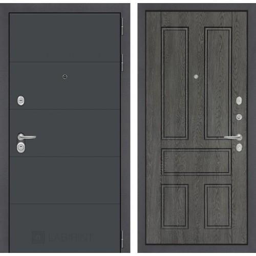 Входная дверь - ART графит 10 - Дуб филадельфия графит