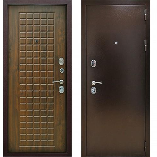 Входная дверь - Титан 3К Винорит Грецкий орех