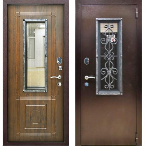 Входная дверь - Плющ ВИНОРИТ грецкий орех