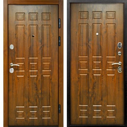Входная дверь - Спарта 3К ВИНОРИТ ТЁМНЫЙ ДУБ