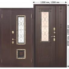 Входная дверь - Венеция 1300 венге