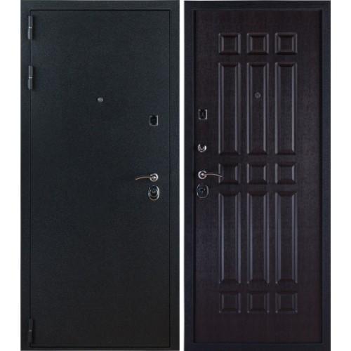 Входная дверь - Лайт Черный Бархат - Венге