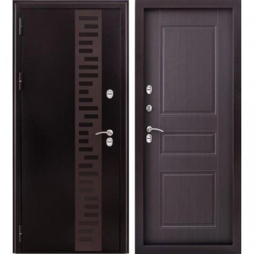 Входная дверь - Урал с отделкой панель венге