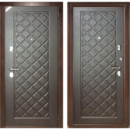 Дверь Зетта Евро 3 Б2 Сетка венге