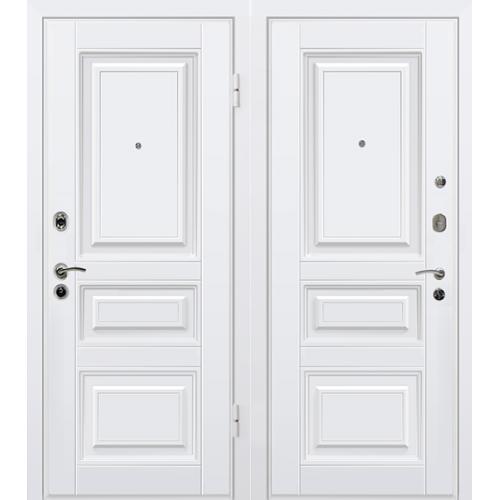 Входная дверь МеталЮр М11 белая