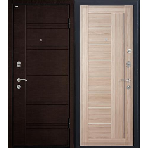 Входная дверь МеталЮр М17 (капучино мелинга)
