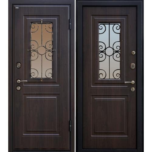 Входная дверь МеталЮр М32 (венге)