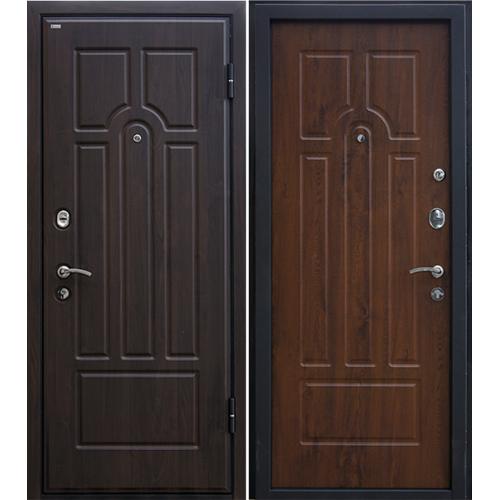 Входная дверь МеталЮр М5 (темный орех)