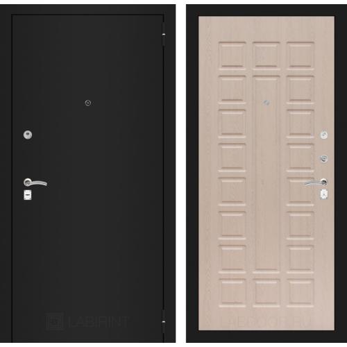 CLASSIC шагрень черная 04 - Беленый дуб